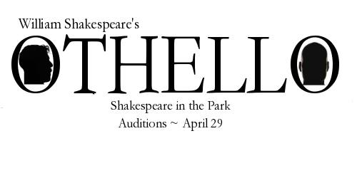 april 29  audition for 2017 shakespeare in the park