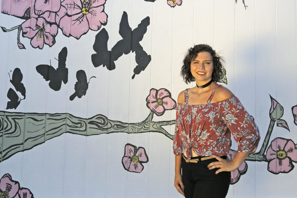 Student Spends Summer Creating Original Mural for Sequoia School