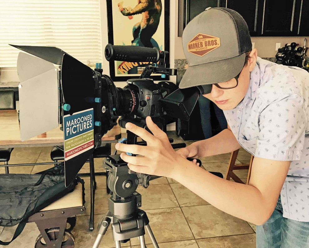 Young Filmmaker Celebrates Premiere of First Feature Film