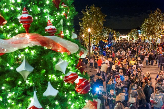 spread holiday cheer at light up main street
