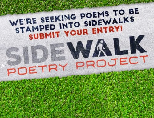 City Seeking Original Poems to be Stamped into Concrete Sidewalks