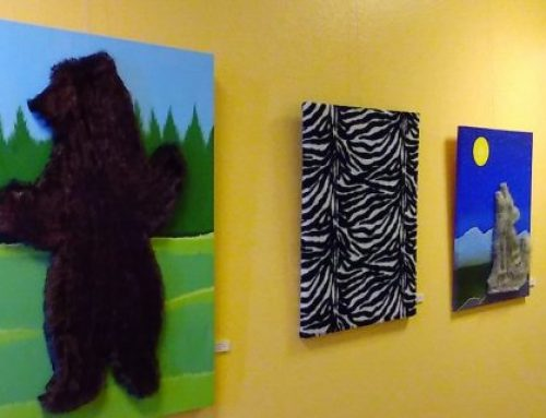 """Pettable Paintings"" Now on Display in Newhall"