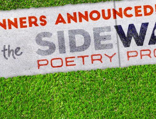 Sidewalk Poetry Stamping Has Begun!